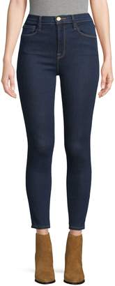 Frame High-Rise Skinny Fit Jeans