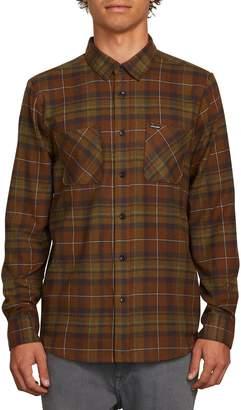 Volcom Lumberg Long Sleeve Flannel Woven Shirt