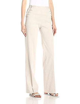 Theory Women's Alrigo Crunch Linen-Blend Pant