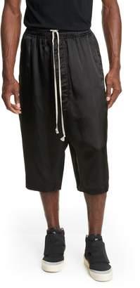 Rick Owens Karloff Drawstring Pantaloni Shorts