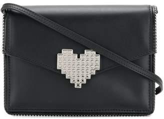 Les Petits Joueurs Lulu heart clutch bag