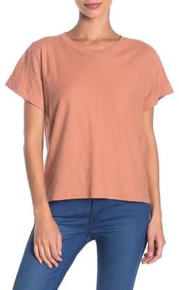 Nation Ltd. Gemma Deep Roll Boxy T-Shirt