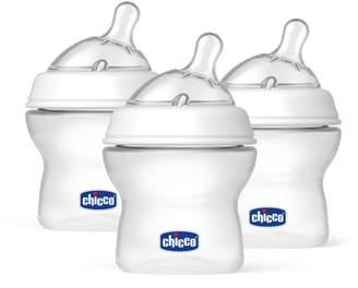 Chicco 8071150 NaturalFit Tri-Pack Bottles for Newborn Babies, 5oz