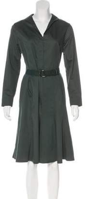 Akris Long Sleeve Knee-Length Dress w/ Tags