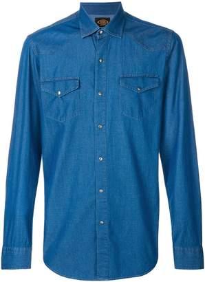 Tod's denim western shirt