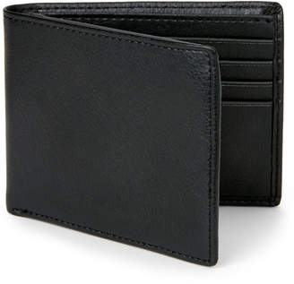 Perry Ellis Portfolio Black Pebble Passcase