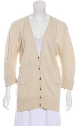 Chloé Cashmere Button-Up Cardigan