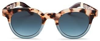 Toms Fin Round Sunglasses, 47mm