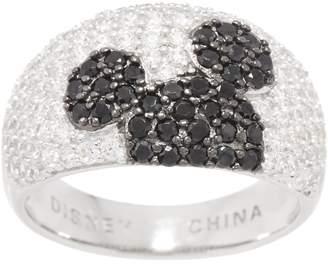 Disney Mickey's 90th Birthday Diamonique Hidden Mickey Ring, Sterling
