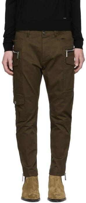 DSQUARED2 Green Sexy Safari Cargo Pants