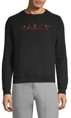 Bally Logo Cotton Sweatshirt