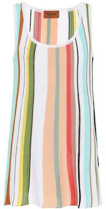Missoni Striped cotton tank top
