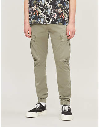 860ea583ac True Religion Branded cropped straight cargo trousers