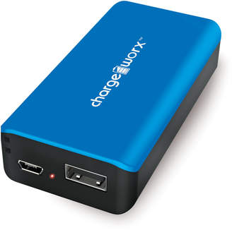 N. Chargeworx Blue 4000mAh Pre-Charged Power Bank