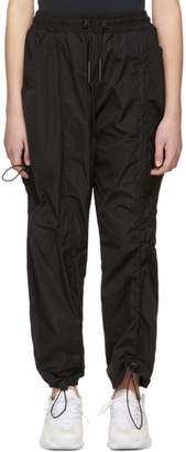 A-Cold-Wall* Black Diagonal Tie Lounge Pants
