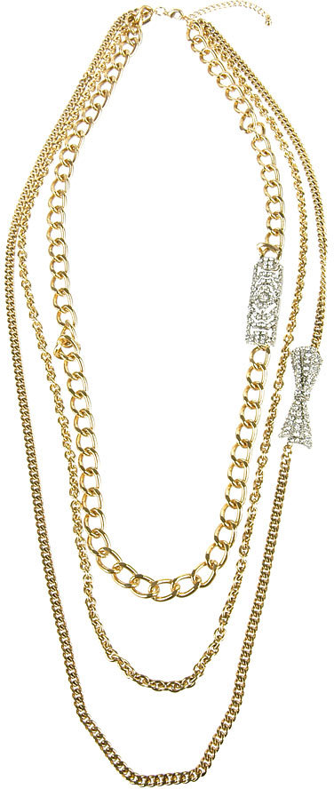 Large Chains Necklace