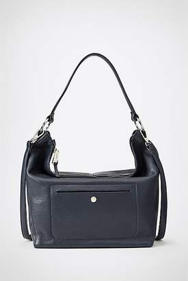 Witchery Tily Leather Textured Hobo