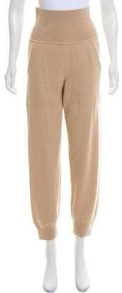 Hermes Camel Hair High-Rise Pants