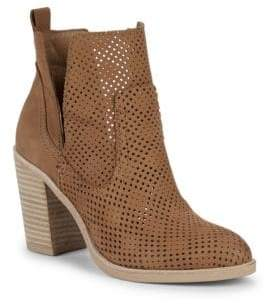 Dolce Vita Shay Perforated Leather Booties