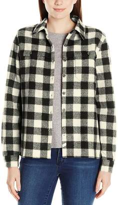 Woolrich Wool Buffalo Stag Shirt - Women's