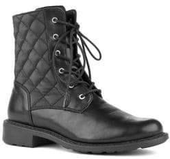 Cougar JESSY Waterproof Quilted Combat Bootie