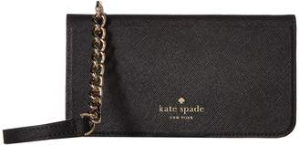 Kate Spade Folio Crossbody For iPhone X Cell Phone Case