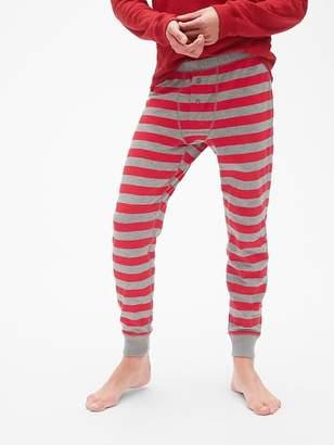 Gap Stripe Long John PJ Pants