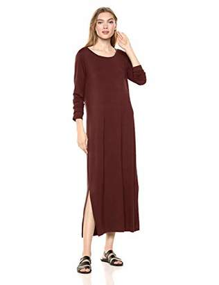 a261eff3237 Daily Ritual Jersey Long-Sleeve Maxi Dress Casual