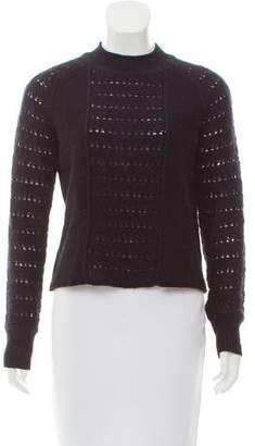 Sonia Rykiel Sonia by Mock Neck Long Sleeve Sweater