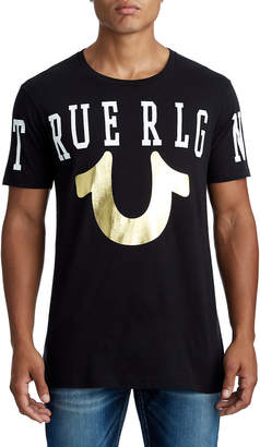 True Religion MENS STRETCH LOGO GRAPHIC TEE