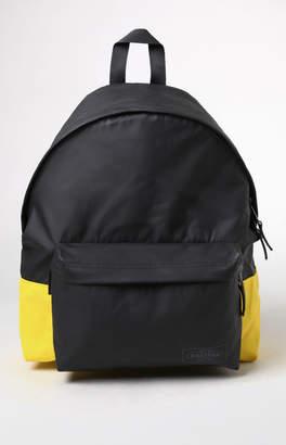 Eastpak Black & Yellow Padded Pak'r Backpack