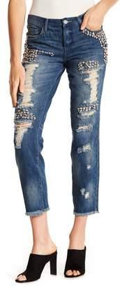 Blank NYC BLANKNYC Denim Embellished Boyfriend Jeans