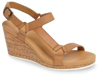 Teva Arrabelle Leather Wedge Sandal