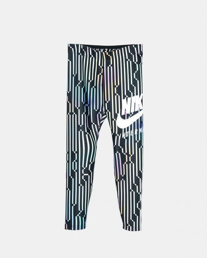 Nike - Women's International Leggings (Black | White | Multi Color)