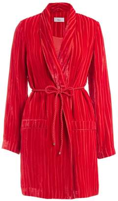 WtR - Serrano Red Velvet Wrap Jacket
