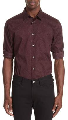 John Varvatos Collection Adjustable Button Tab Sleeve Sport Shirt