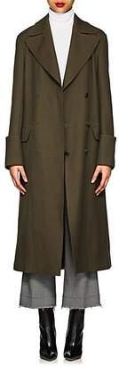 A.L.C. Women's Wool-Blend Peacoat - Green