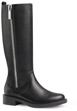 Gucci Kid's Tall Leather Boots $540 thestylecure.com