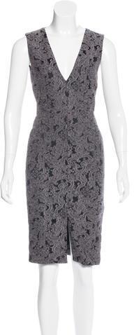 Alice + OliviaAlice + Olivia Jacquard Sheath Dress
