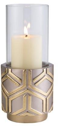 OK Lighting Rose Gold Savannah Candleholder