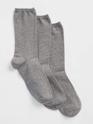Gap Basic Crew Socks (3-pack)