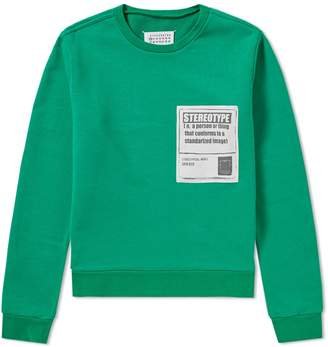 Maison Margiela Stereotype Crew Sweat