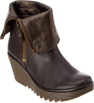 Fly London Yex Wedge Bootie