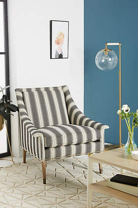 Anthropologie Suren-Striped Tillie Chair
