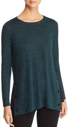 Nic+Zoe Every Occasion Split-Hem Tunic Sweater