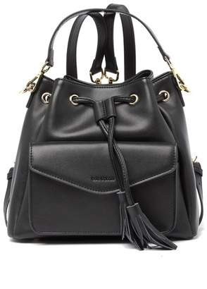Belle & Bloom Florence Convertible Leather Bucket Bag