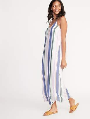 b1734a22a7e Old Navy Sleeveless V-Neck Multi-Stripe Maxi for Women