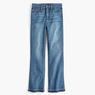 "J.Crew Point Sur 10"" high-rise demi-boot jean with let down hem"