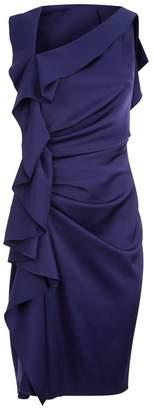 Paule Ka Ruched Side Dress
