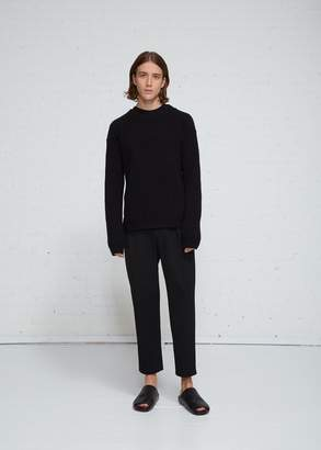 Rick Owens Fisherman Round Neck Sweater
